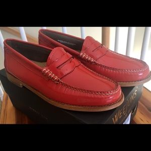 BASS WEEJUN WHITNEY PENNY LOAFER LEATHER NIB SZ 8